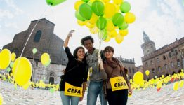 Volontari Cefa a Bologna