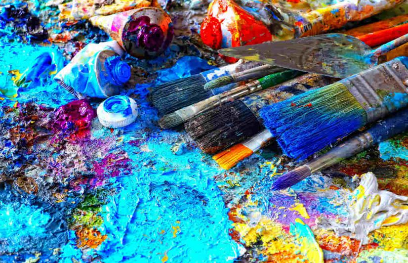 Creare ri creare tecniche di pittura creativa e for Tecniche di pittura