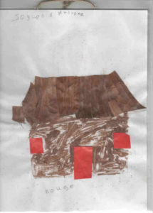 Disegno di Joylen, alunna della scuola della Casa della Speranza in Kenya